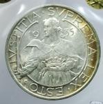 obverse: Zecche Italiane. San Marino.Antica Monetazione. 10 Lire 1935. Gig. 13. qFDC.Periziata