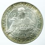 obverse: San Marino. Antica Monetazione. 10 Lire 1937. qFDC.