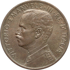 Vittorio Emanuele III (1900-1943) 5 centesimi 1909.