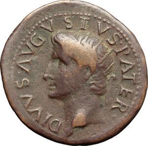 Augusto (27 a.C - 14 d.C) Dupondio.