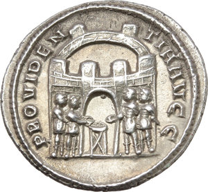 Reverse image of coin 306