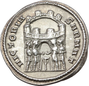 Reverse image of coin 307