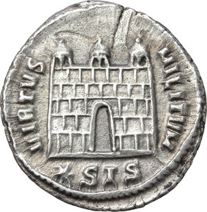 Reverse image of coin 308