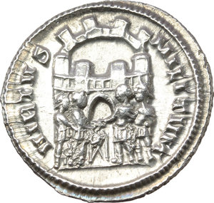 Reverse image of coin 317