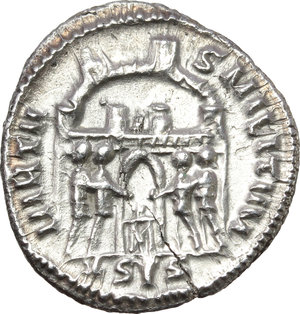 Reverse image of coin 318