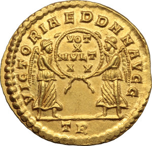 Reverse image of coin 322
