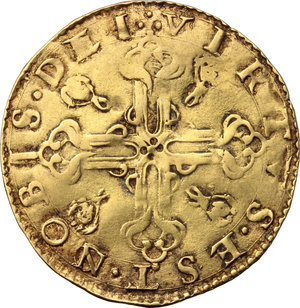 Reverse image of coin 411