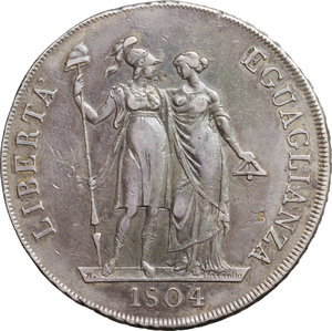 Reverse image of coin 434
