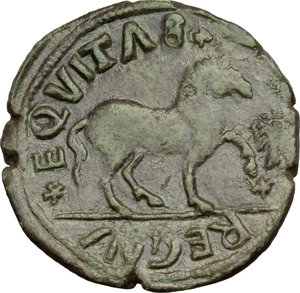 Reverse image of coin 438