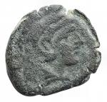 D/ Repubblica Romana - Prima del 211 a.C. Serie anonima. Quadrante. AE. Peso gr. 6,06. Diametro mm. 19,8. qBB.