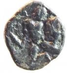 R/ Mondo Greco. Calabria. Tarentum. 380-334 a.C. Diobolo. Ag. D/ Testa elmata di Athena a sinisttra . R/ Ercole combatte il leone Nemeo, a sinistra clava e TARAS. Vlasto 1362. Peso 0,93 gr. Diametro 13,70 mm. BB+. R.