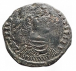 D/ Barbari - Sarmati ?.Costanzo II.Ae imitativo. Peso gr. 5,68. Diametro mm. 21,7 x 20,05.BB++.