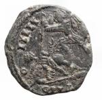 R/ Barbari - Sarmati ?.Costanzo II.Ae imitativo. Peso gr. 5,68. Diametro mm. 21,7 x 20,05.BB++.