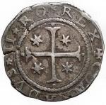 Zecche Italiane - Genova. Dogi Biennali (1528-1797). Mezzo scudo, 1627. MIR 226/13- CNI -. AG. g.18.75. BB+. Patina. Raro