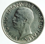 R/ Casa Savoia. Vittorio Emanuele III. 1900-1943. 5 lire 1927. Ag. qFDC.