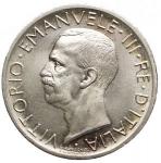 D/ Casa Savoia - Vittorio Emanuele III. 5 lire 1927 Aquilino. Ag. FDC. Fondi lucenti.