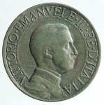 R/ Casa Savoia. Vittorio Emanuele III. 2 lire 1908. Ag. Gig 96. BB\MB.