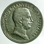 R/ Casa Savoia. Vittorio Emanuele III. 2 Lire 1914. Quadriga Briosa. Pagani 737. Peso 10,02. BB.