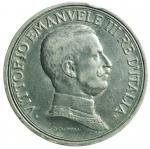 R/ Casa Savoia. Vittorio Emanuele III. 2 Lire 1915 Quadriga Briosa. Ag. Peso 10 gr. Diametro 27 mm. BB.