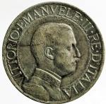 R/ Casa Savoia. Vittorio Emanuele III. 1 lira 1913 Quadriga veloce. MB+.
