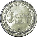 D/ Casa Savoia. Vittorio Emanuele III. 1 Lira 1928 Italia Seduta. FDC. Di grande freschezza e lucentezza del metallo. Insignificanti segnetti di contatto. NC.rf