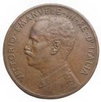 R/ Casa Savoia -Vittorio Emanuele III. 1900-1943.5 centesimi 1908.Ae.Pag. 892.SPL+. R.