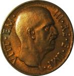 D/ Casa Savoia. Vittorio Emanuele III. 5 Centesimi 1936 Impero. Ae. FDC. Rame rosso. NC .rf