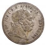 D/ Monete Estere - Austria. Francesco Giuseppe. 10 Kreuzer 1870. Ag. BB-SPL. Patina.