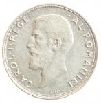 D/ Monete Estere. Romania. Carlo I. 1866-1914. 2 lei 1912. AG. Schaffer/Stambuliu 076. qSPL.y