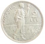 R/ Monete Estere. Romania. Carlo I. 1866-1914. 2 lei 1912. AG. Schaffer/Stambuliu 076. qSPL.y