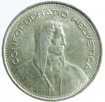 R/ Monete Estere. Svizzera. 5 franchi 1967 B. AG. KM 40. qFDC.