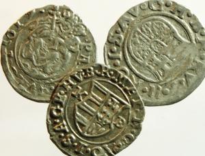 D/ Monete Estere. Ungheria. Lotto di 3 denari in ottime conservazioni.