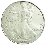 D/ Monete Estere. USA. Oncia 2000. Peso 31,20 gr. Diametro 40,00 mm. FDC.