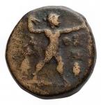 R/ Varie - Mondo Greco. Tracia. Ae da catalogare. Athena a destra / Poseidone a destra. Peso gr. 6,23.
