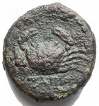 R/ Varie - Mondo Greco. Agrigento. Ae da catalogare. Peso gr. 1,91.