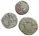 R/ Lotti - Impero Romano. Lotto di 3 esemplari in Ae da identificare.