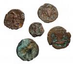 R/ Lotti - Provincia Romana. Egitto. Alessandria. Lotto di 5 esemplari in Ae.