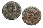 D/ Lotti - Impero Romana. Germanico e Giuliano II. Lotto di 2 Medi Bronzi in Ae.