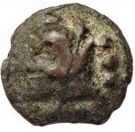 Repubblica Romana - Serie librale. Quadrante, 225-217 a.C. D/ Testa di Ercole a sinistra. R/ Prua a destra. Cr. 35/4. gr. 58,18. AE. qBB.
