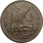 obverse:  Napoleone I (1799-1804), Primo Console Medaglia 10 Giugno 1801 per il soggiorno a Parigi del Re, Ludovico I di Borbone e della Regina d Etruria.