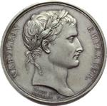 obverse:  Napoleone I (1804-1815) Medaglia A. XIII, 1804, Parigi.