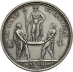 reverse:  Napoleone I (1804-1815) Medaglia A. XIII, 1804, Parigi.