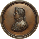 obverse:  Napoleone I (1804-1815) Medaglia uniface.