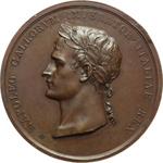 obverse:  Napoleone I (1804-1815) Medaglia per l incoronazione a Re d Italia, Milano il 12 Maggio 1805.