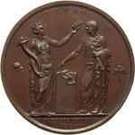 reverse:  Napoleone I (1804-1815) Medaglia per l incoronazione a Re d Italia, Milano il 12 Maggio 1805.