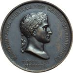 obverse:  Napoleone I (1804-1815) Medaglia 1806 per la battaglia di Jena.