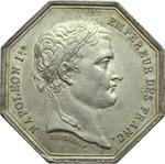 obverse:  Napoleone I (1804-1815) Gettone ottagonale per i notai del dipartimento della Senna.