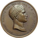 obverse:  Napoleone I (1804-1815) Medaglia 1809 per la battaglia di Wagram.