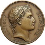 obverse:  Napoleone I (1804-1815) Medaglia A. XIII (1804).