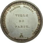 reverse:  Napoleone (1804-1815) Medaglia 1814, Prefettura dipartimento della Senna.